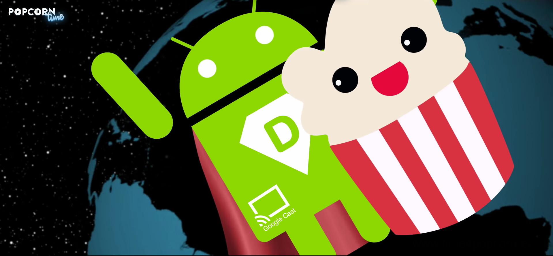 Android en Popcorn Time